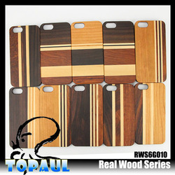 Genuine Natural wood case for iphone 5 real wood phone case