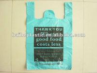 HDPE shopping bag printing
