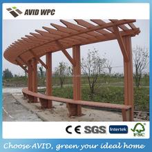 WPC pergola/WPC composite pergola/WPC pergola for wooden garden