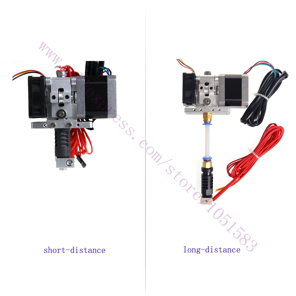 Hotend Extruder J Head With Stepper Motor For 3d Printer Shortlong Pir Motion Sensor Wiring Diagram A Besides Chinese Pit Bike Distance 175 3mm Filament 03 04 05mm Nozzle Optional
