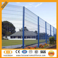 Lowest price CE wire mesh fence specification