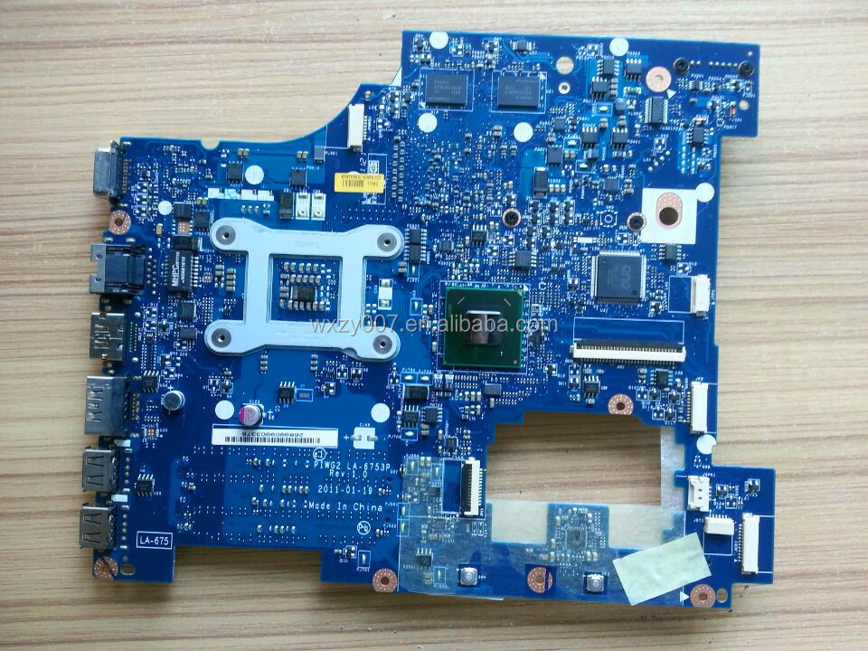 For Lenovo G570 Laptop Motherboard Piwg2 La
