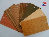 wood effect metallic powder coating