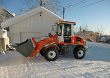 europe mini loader for snow removing