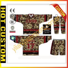 custom sublimation inline hockey jersey100% polyester hockey jersey american flag hockey jersey