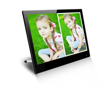14 Inch Motion Sensor Digital Photo Frame IPS LCD 1920x1080pixels auto power on to play video/music/photo