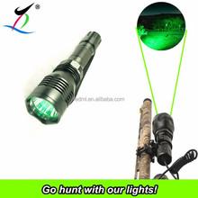 ML-900 Gun Mounted green led flashlight