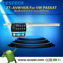 100% android 4.4 autoradio gps mirror link for VW PASSAT android double din in dash car dvd player with gps
