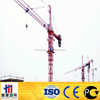 2012 Popular QTZ50 Traveling Tower Crane