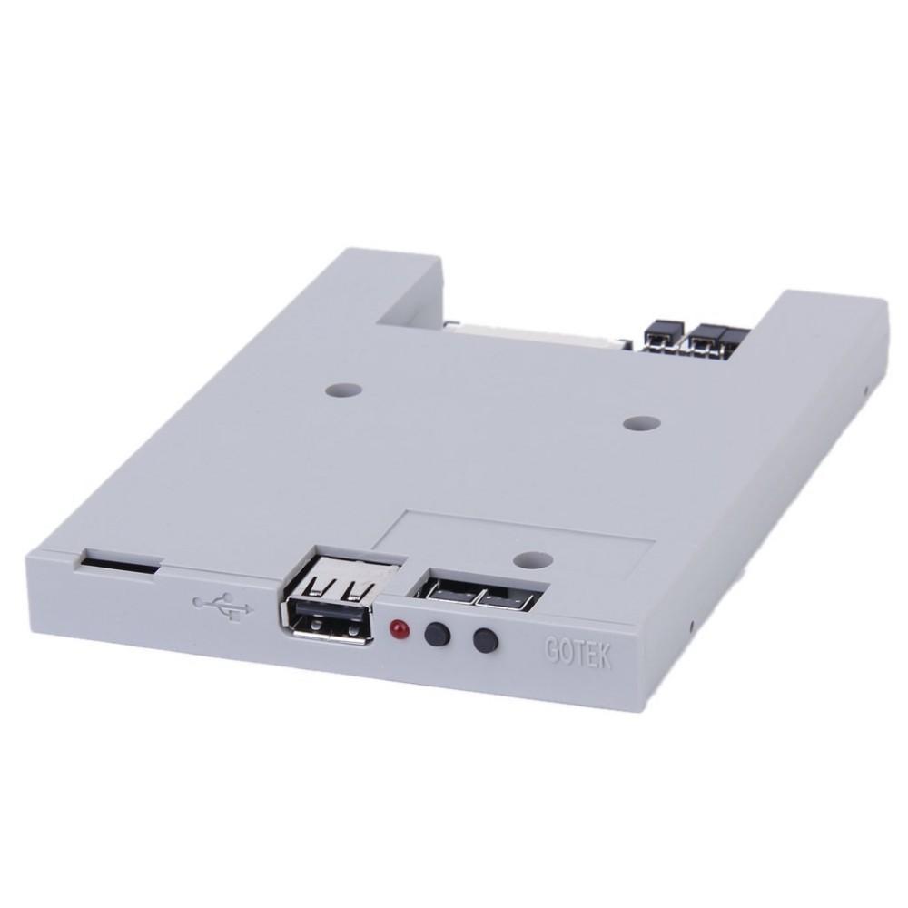 """новый белый 3,5"""" 720 КБ usb fat32 ssd дисковод ЖК эмулятор + 3шт винты"""