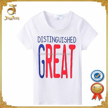 100% cotton branded new children T shirt,wholesale children clothing