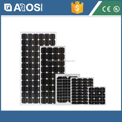 High efficiency 5w to 300w solar panel with frame and MC4 connector