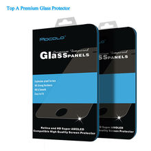 Retail Packaging 2.5D 9H Tempered Glass Screen Protector For iPhone 5 5S 5C