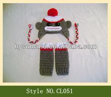 Monkey cap kids winter animal hat
