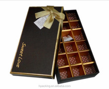 children chocolate gift paperboard box for Christmas Day HP40