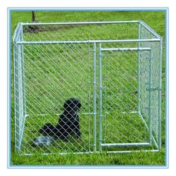 China hot sale iron fence dog kennel/ galvanized outdoor dog kennel / dog kennel wholesale