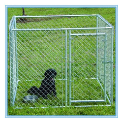 China hot sale iron fence dog kennel/ galvanized outdoor dog kennel / dog kennel wholesale