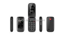 2.4 inch dual sim card SOS button big keyboard mobile phone for elderly