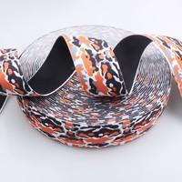 elastic webbing for suspenders top quality custom print QK990