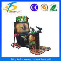 Popular 55 inch coin operated shooting machine Paradise Lost video games