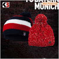 made in china knitted wholesale fur pom poms