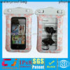 For diving pouch pvc cellphone waterproof bag for iphone 5