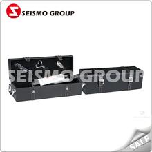 leather cufflink storage box brown leather tissue box