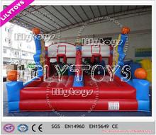 Hot selling pvc Inflatable Basketball Hoop inflatable Shoot Hoop Inflatable Shooting hoop on sales