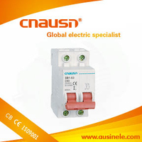 SB1-63( dz47-63 ) 2 poles number and mini type miniature circuit breaker mcb with low price