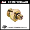 BSPP/BSPP straight male thread captive sealed tractor hydraulic fitting