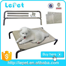 outdoor pet camping cot elevated pet dog beds/dog beds for large dogs/elevated pet bed