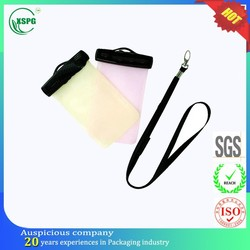 Rectangular small pvc heat-sealed pouch for phone