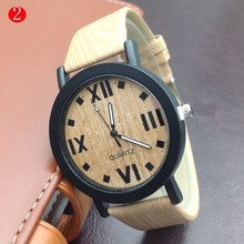 unisex with customised logo, fashion wristwatch Eco-friendly Natural handmade wooden watch
