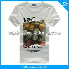 Fashional Design College Oem Men's T-Shirt With Free Sample