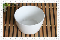 Custom stoneware material plain white ceramic bowls dinnerware