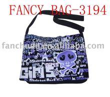 Popular personalized shoulder long strap bag with skull