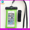 newest design pvc waterproof phone bag for all smartphone with arm and compass