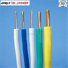 China wire manufacture copper core pvc insulated cable/ electrical housing wire