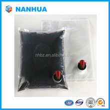 Wholesale transparent bag in box for wine China alibaba web.