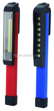 1W/3W COB plastic magnetic pen light