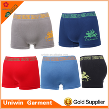 Hot selling low price cotton male underwear trunks