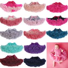 Pretty cute tutu skirts teen pettiskirt girls fluffy tutu skirt chiffon pettiskirt wholesale Christmas pettiskirt for girls wear