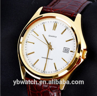 fashion simple style watches leather band accept your wonderful design