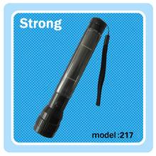 1W Aluminum LED flashlight solar using 1*AA charge battery,china manufacturer