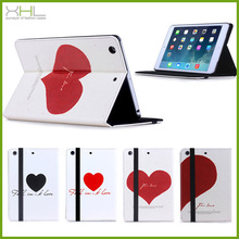 Stand pu leather case for ipad air