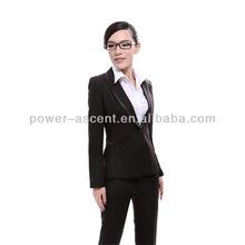 mujer formal de último diseño trajes