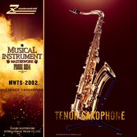 China high quality tenor saxphone, golden saxofone, saxophone children