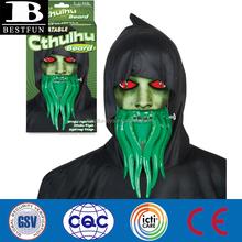 Halloween Promotional custom vinyl inflatable cthulhu beard portable cthulhu fake beard for sale