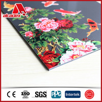 Decoration UV Panel/custom print aluminium composite plates/acp