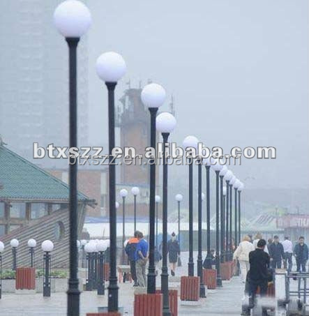 Outdoor decorative light posts led lamp poles street lighting posts